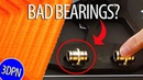 HOW TO Replace BAD 3D Printer Bearings and Troubleshoot Results
