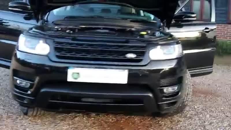 Land Rover Range Rover Sport 3.0 SDV6 HSE Dynamic 5dr Automatic in Santorini Bla