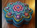 Örgü Yastık Kırlent Modelleri Crochet