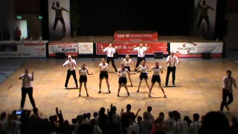 Deutsche Meisterschaft Boogie Woogie Formationen Hameln 2013 Young Spirit