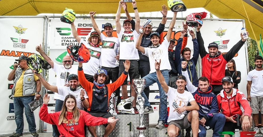 Брэд Фримен выиграл чемпионат Италии по эндуро 2019