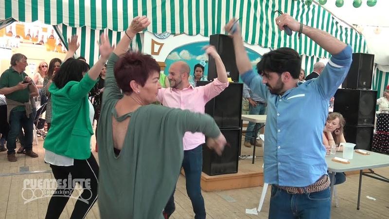 Sevillanas en la Feria de Sevilla 2018. Un Paseo por las Casetas.