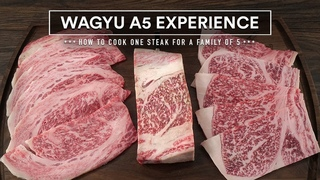 How to cook the WORLD'S BEST BEEF - Japanese WAGYU A5 Steak Experience!
