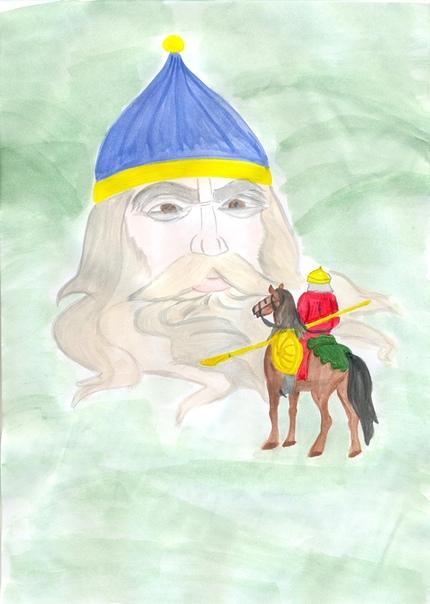 развлекательной нарисовать рисунок самой руслан и людмила нальчика, фото описания