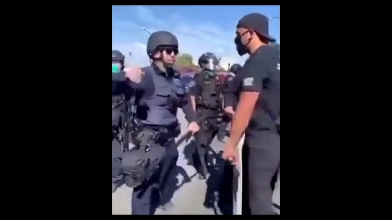 Cop Knocked Out In Fresno Crazy Meme