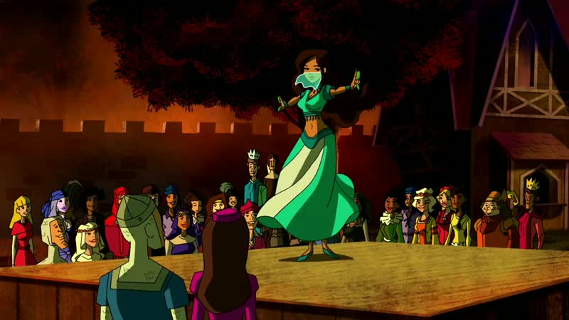 Scooby Doo! Mystery Incorporated - Belly Dancer.mp4