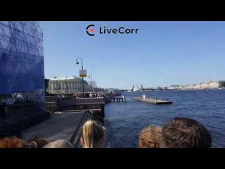 Генеральная репетиция парада на день ВМФ в Петербурге