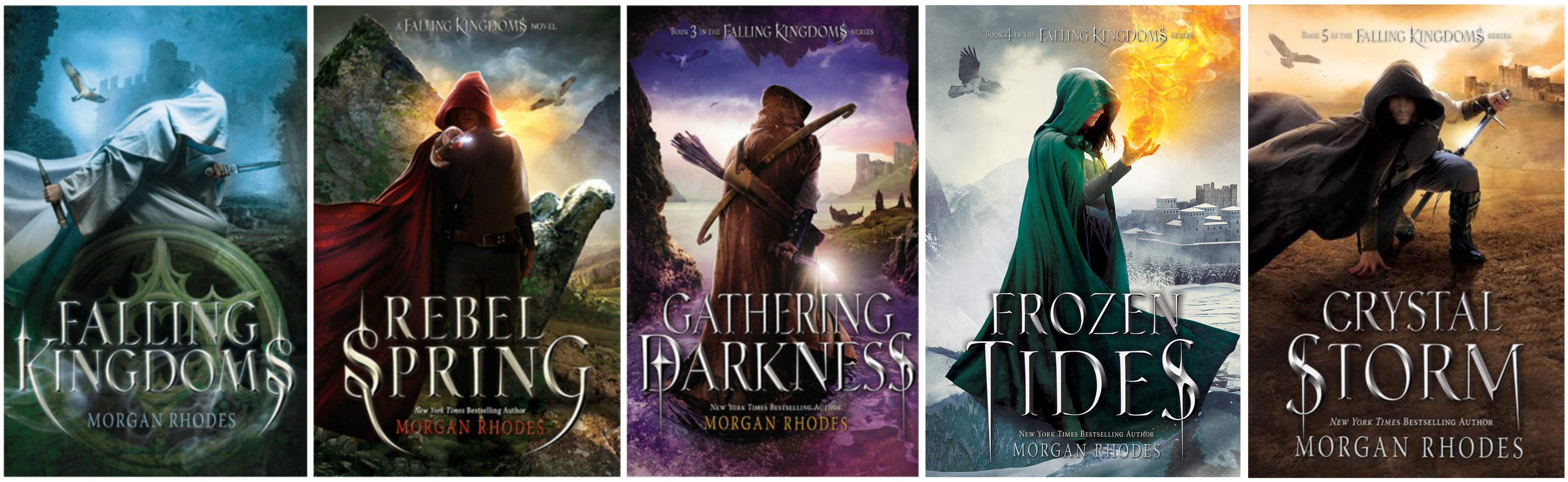 Falling Kingdoms by Rhodes Morgan