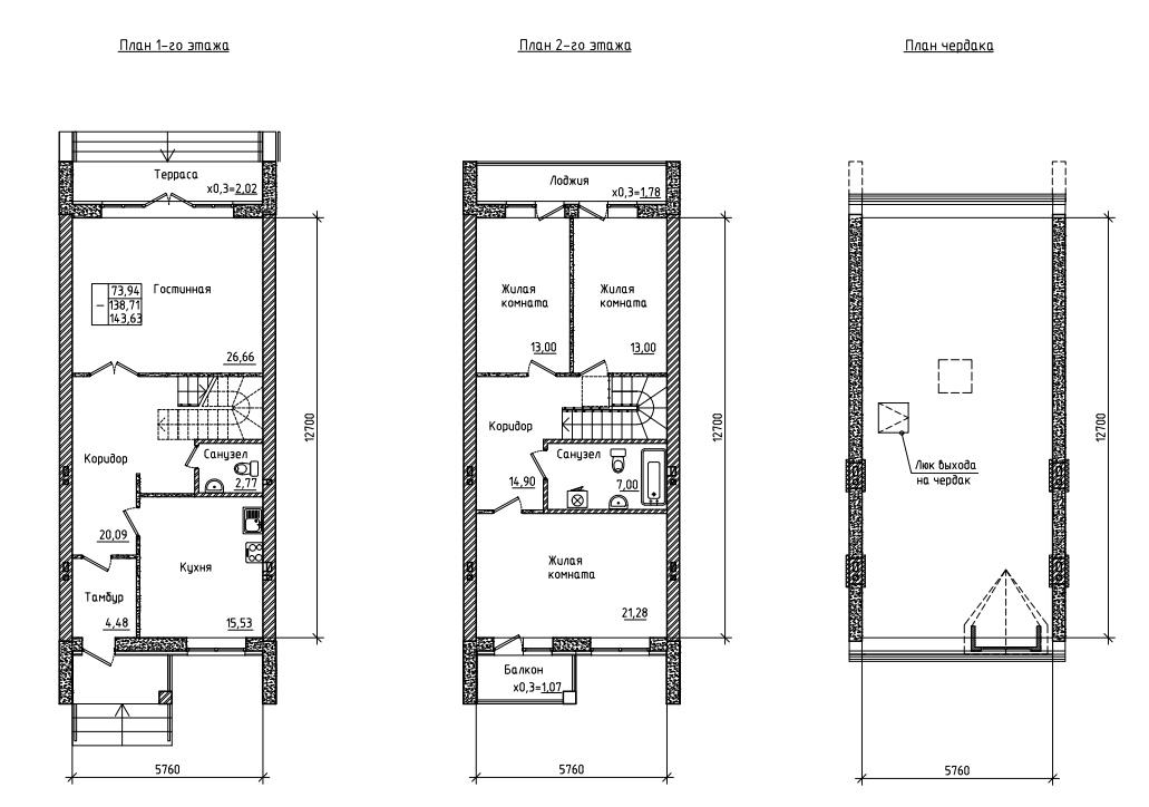 Между домом и квартирой – строительство таунхаусов набирает обороты