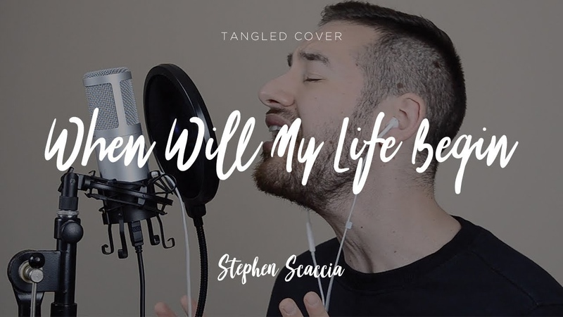 When Will My Life Begin Tangled cover by Stephen Scaccia