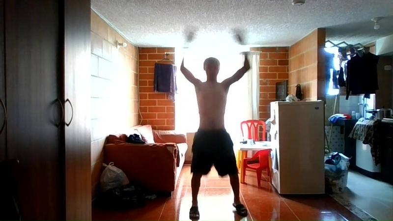 Primer dia usando app de ejercicios cuarentena