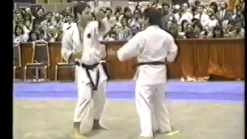 Ude tanren with Higaonna Sensei
