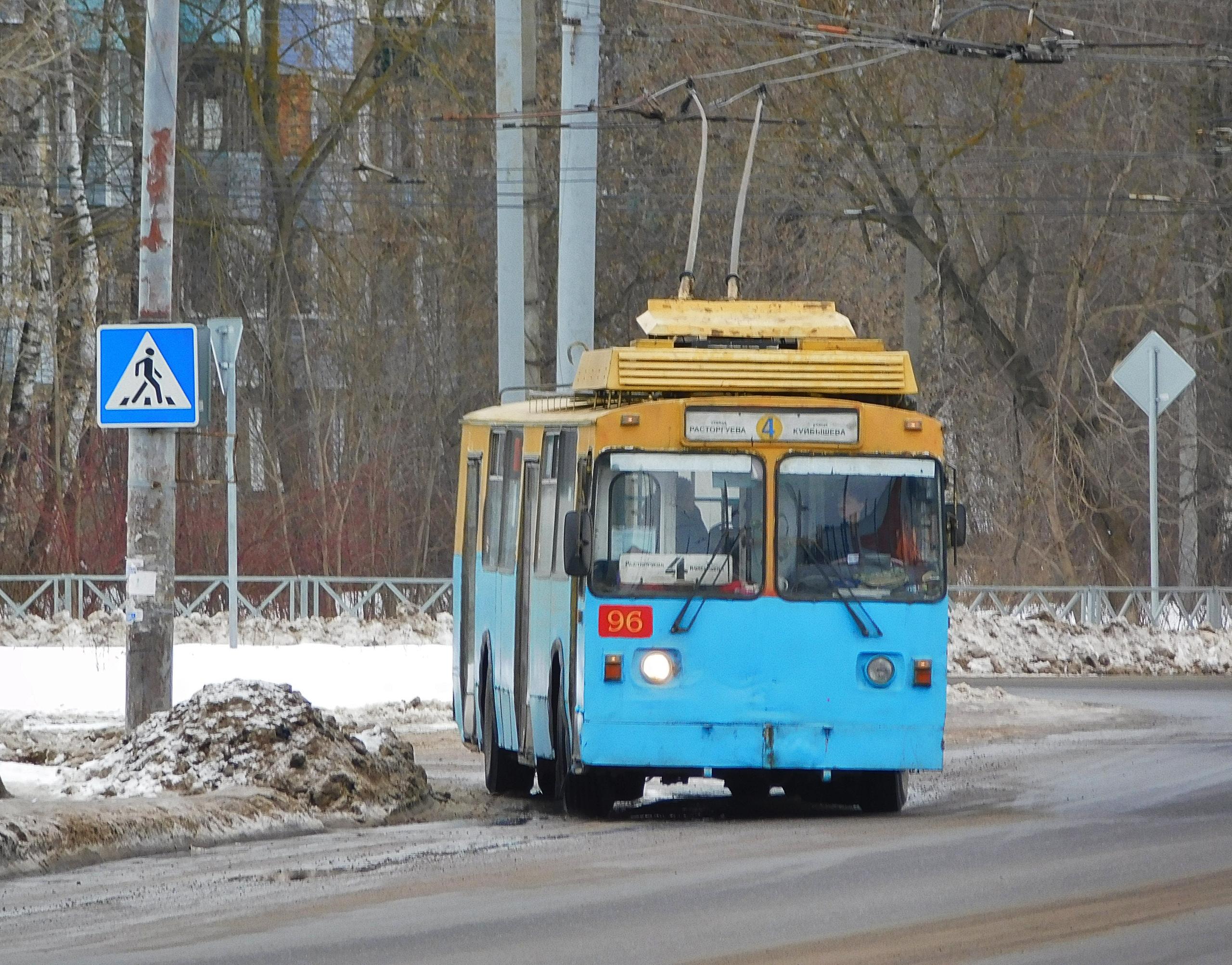 Троллейбус №4