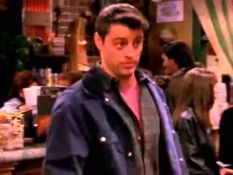 Joey swearing in Italian