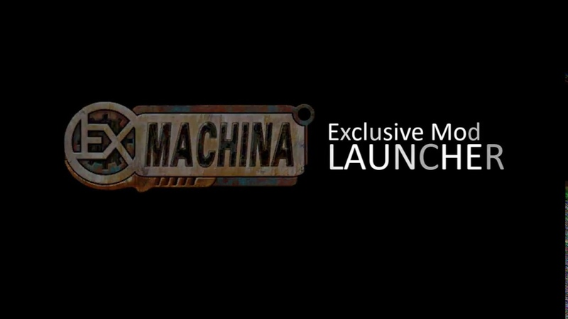 Ex Machina Exclusive Mod Launcher First Preview