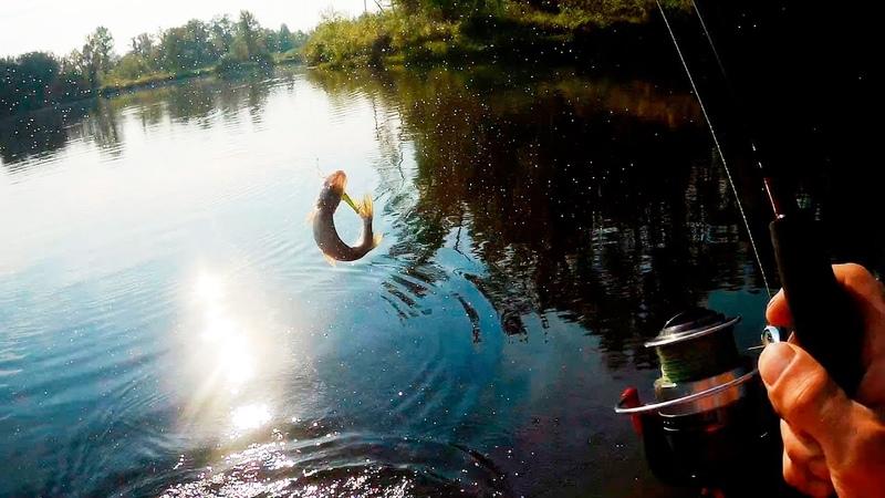 Троллинг рыбалка на реке Кама | троллинг воблерами