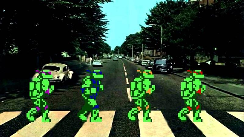 Teenage Mutant Ninja Turtles Come Together NES Stage 5 Mix
