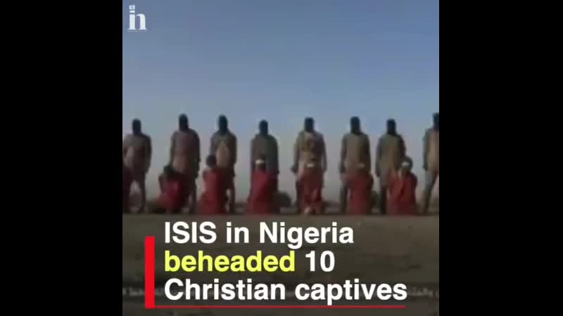 Christian persecution is rife throughout the world it's time to stand up and fight back