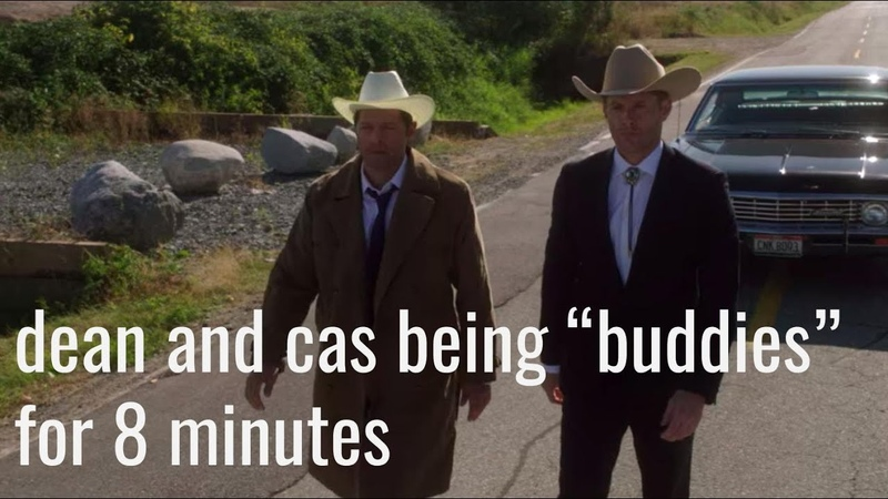 Dean and cas being buddies for 8 minutes