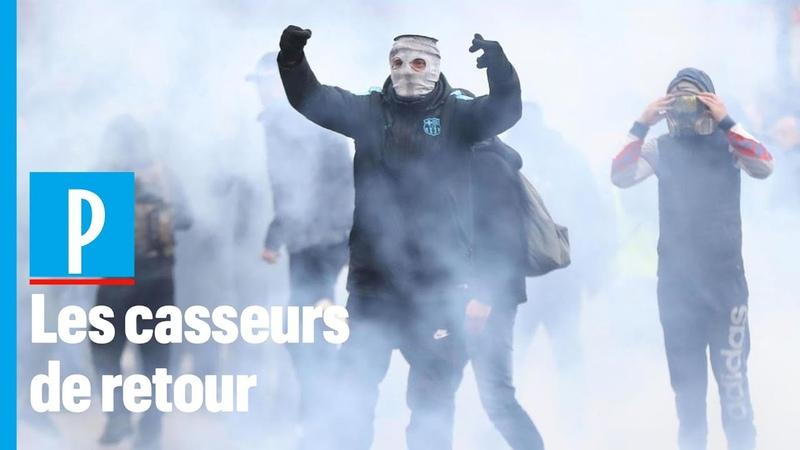 Un an de gilet jaunes les casseurs de retour dans Paris