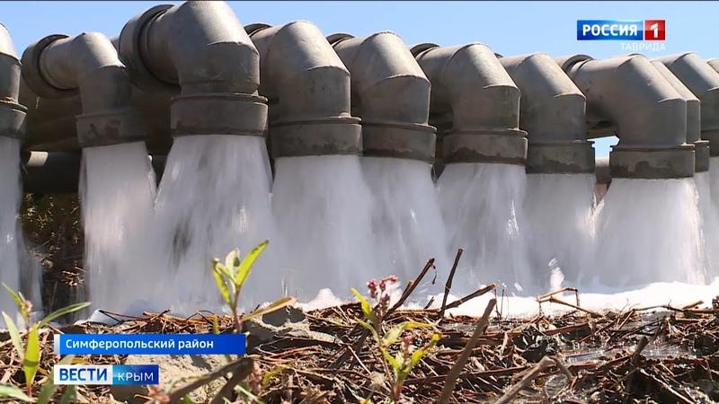В Крыму торжественно запущен новый водовод