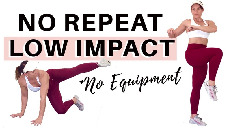 NO REPEAT NO EQUIPMENT APARTMENT FRIENDLY HIIT 45 Minute Home Workout