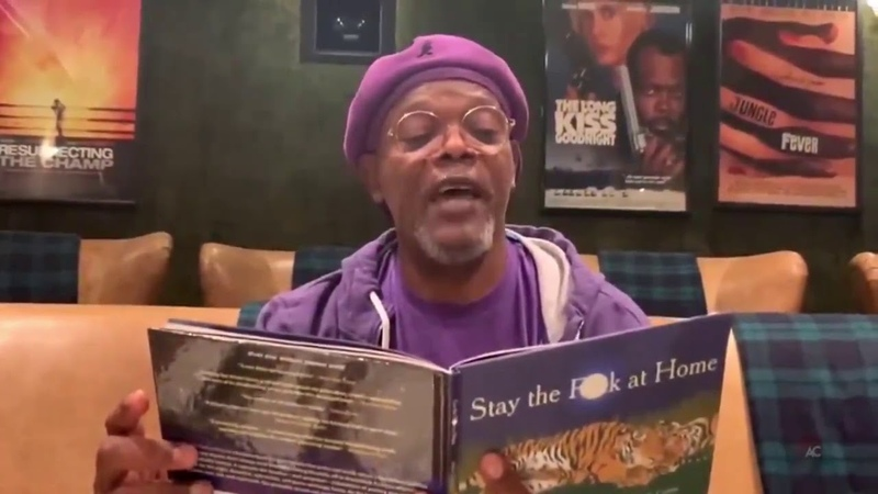 Samuel L Jackson presents: Stay the F at Home A Coronavirus Poem