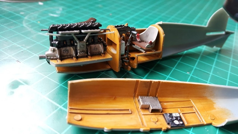 Eduard 1 48 Scale Albatros DIII How to Paint Wooden Effect on Scale Models Part 1