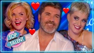 When Judges FLIRT With Contestants on Idol, X Factor & Got Talent | Top Talent