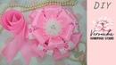 Бант на выписку из роддома для девочки мастер класс 🌸 Bow for a newborn 🌸 Бант на виписку з роддому