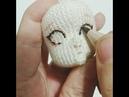 Amigurumi göz işleme 1 embroidery eyes