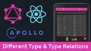 GraphQL 4 Новый тип и связь между типами (Different Type Type Relations)