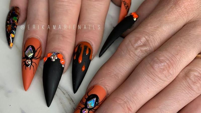 Recreacion de instagram Halloween Diseño de otoño