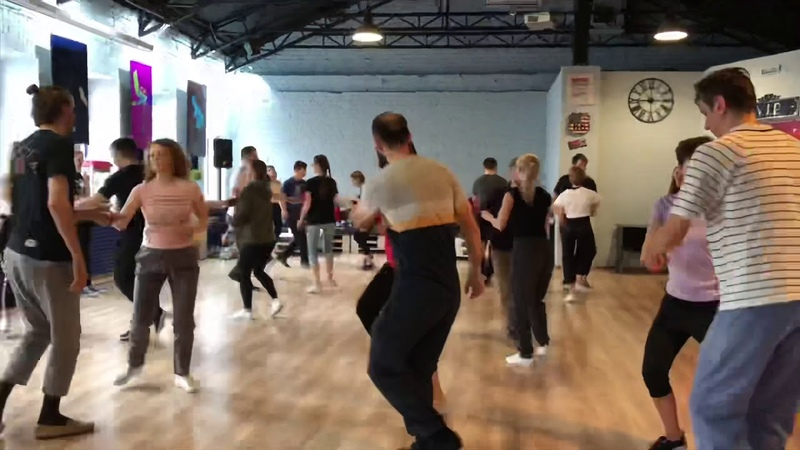 Boogie Woogie master classes by Tanya and Sondre in Moscow 2019