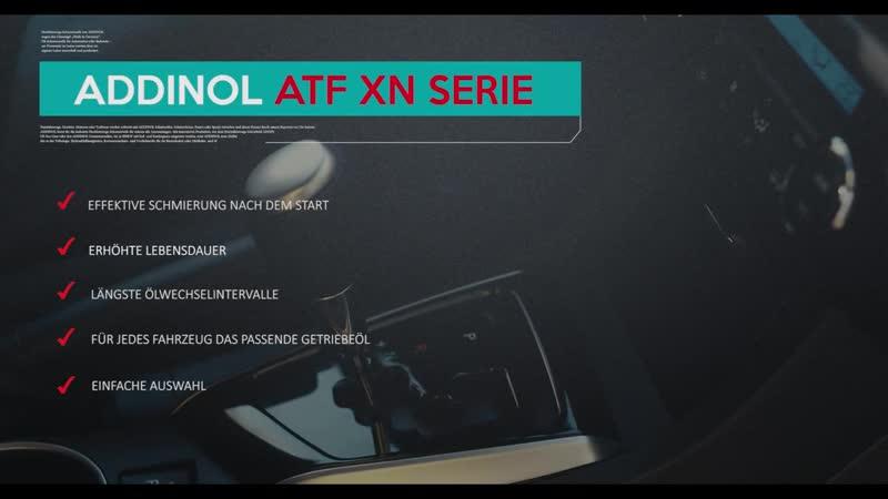 ADDINOL ATF XN Serie für Stufenautomatikgetriebe