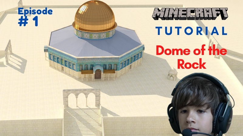 Minecraft Tutorial Dome of the Rock قبة الصخرة Walkthrough Ep 1