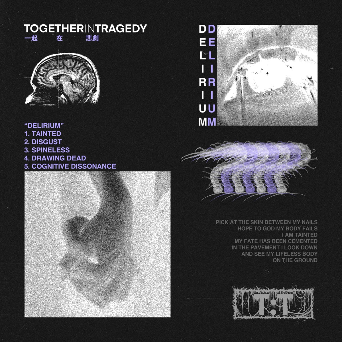 Together In Tragedy - Delirium (EP)