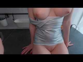 Anika Spring  Instachick In A Tight Dress Gives Permission To Cum Inside