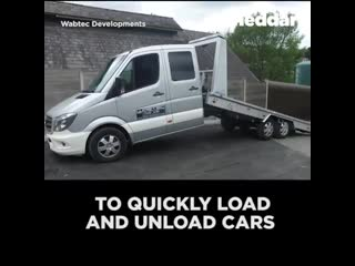 Check out this unique tow truck.