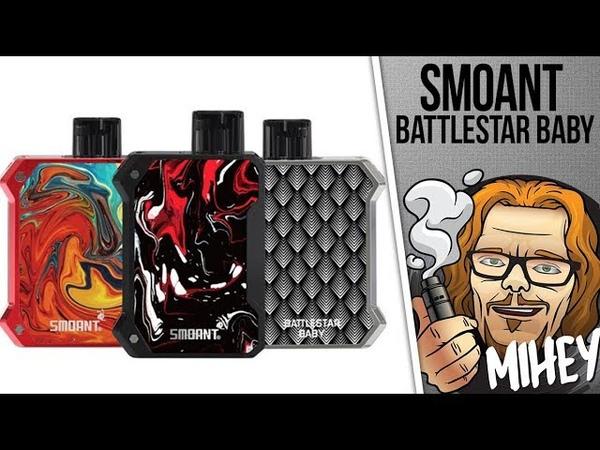 Smoant Battlestar Baby Pod Kit. Отличный косплей.