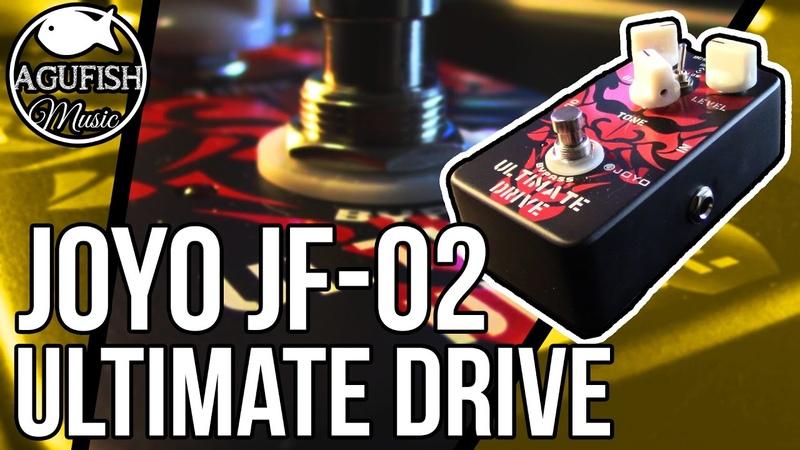 Joyo JF-02 Ultimate Drive Demo | Bridge Between Distortion and Overdrive!!