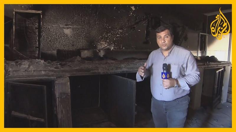 حصري كاميرا الجزيرة تدخل سجن الصناديق الحديدية السري الذي أقامته ميليشيات حفتر في ترهونة