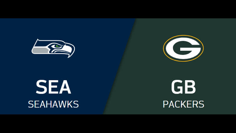 NFL 2019 2020 NFC Divisional Seattle Seahawks Green Bay Packers CG EN