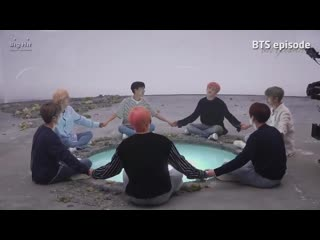 They are doing prayer circle so the hairdresser doesnt come near jungkooks hair with scissors -