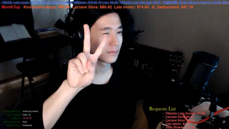 【Live Stream_ライブ配信】 🇰🇷🇯🇵🇬🇧🇫🇷🇪🇸 Talk and Song Practice , 適当な弾き語り配信。 (7).mp4