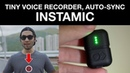 Can this tiny voice recorder replace wireless mics Instamic Tentacle Sync