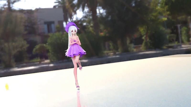 MMD Haku Will You Go Out With Me