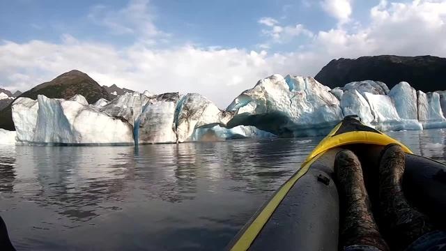 Kayak Adventure Met with Major Waves