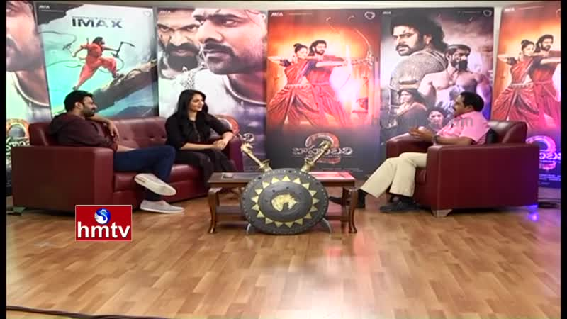 Prabhas Anushka Exclusive Chit Chat HMTV