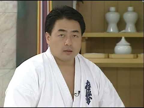 Shokei Matsui Karate Kyokushinkai Kumite techniques Шокей Мацуи Техника кумите карате Киокушинкай